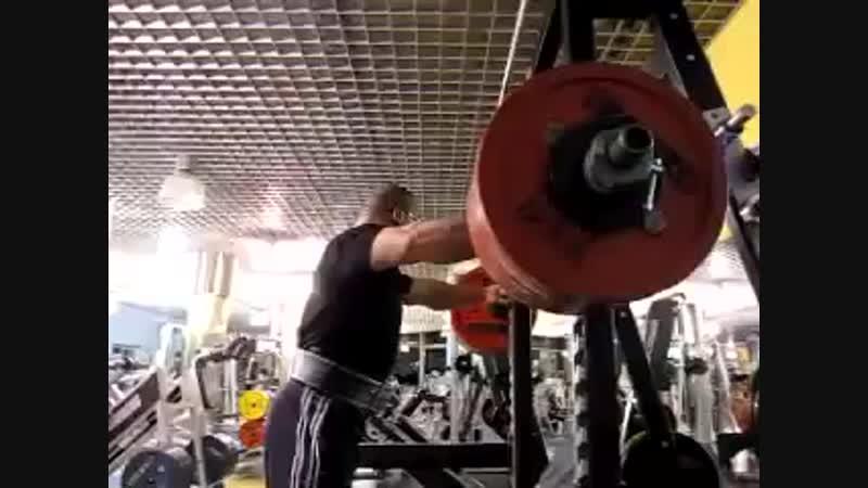 Konstantinovs squat 285kg(628lb)-6 reps,Raw