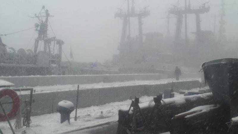 20 марта 2015 пик солнечного затмения г.Североморск