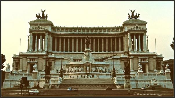 Подборка ретро-фотографий Рима 1971г.Италия