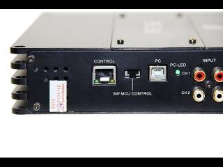 2 в 1. Усилитель + DSP звуковой аудио процессор для автомобиля.