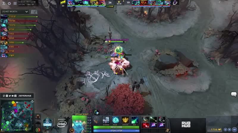 Na`Vi vs Keen Gaming ESL One Mumbai 2019 bo3 game 2 Godhunt Lost