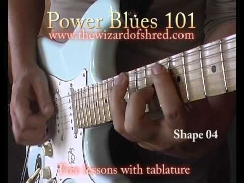 5 blues scale licks - Expand the blues scale in 1 minute - Free guitar shred lesson