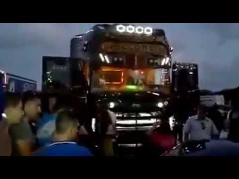 Scania RS730 Black Amber Tuning Scania R730 Absolute Tuning