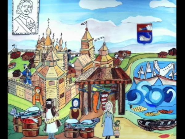 Мультфильм городок мой Кола