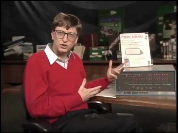 Bill Gates talks about Microsoft and the Altair 8800 1994