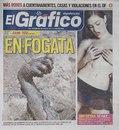 Ведущий мексиканский таблоид El Grafico, постоянно публикует две темы, первая как вы