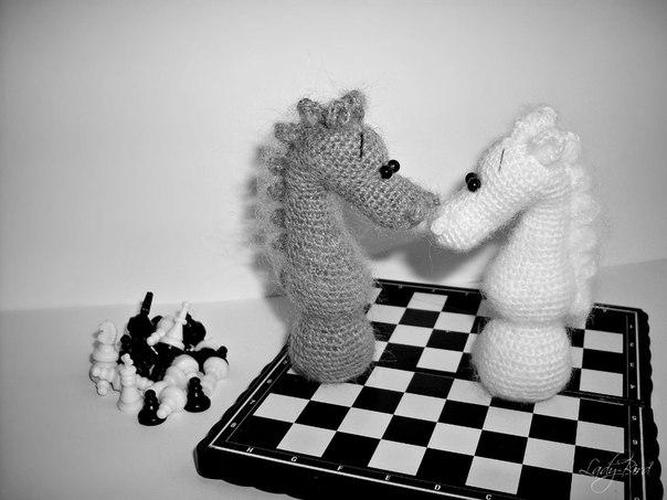 Шахматный конь от Lady Bird.