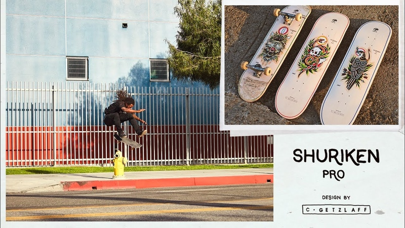 Arbor Skateboards Shuriken Shannon Pro Model