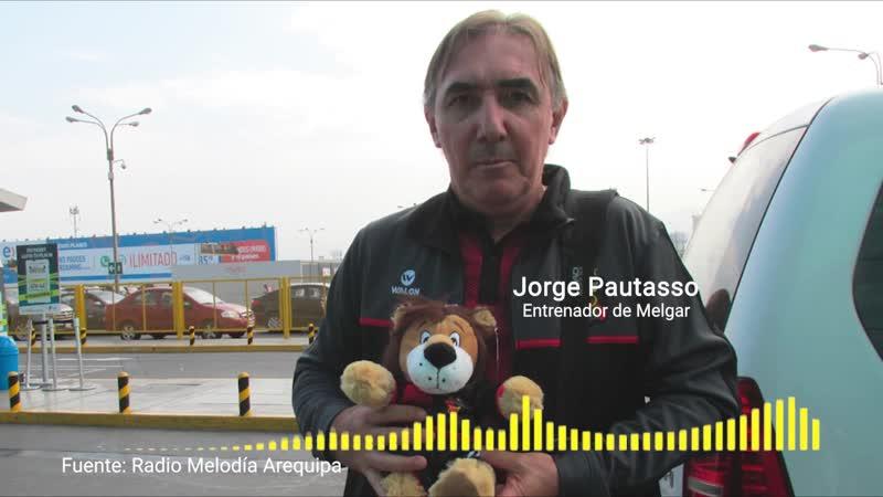 Copa Libertadores FBC Melgar vs San Lorenzo Jorge Pautasso indicó que irán por los tres puntos ante los argentinos en Arequipa