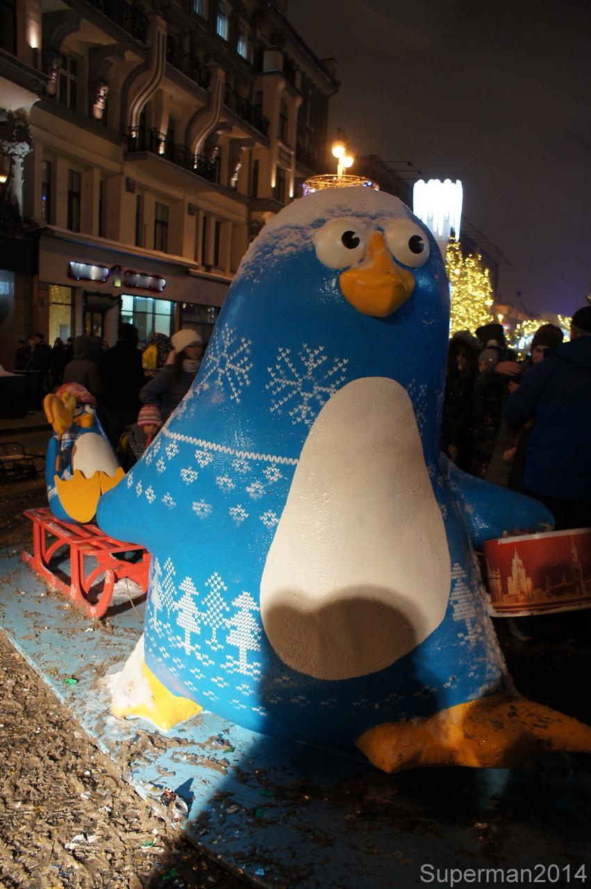 Новогодняя Москва 2018-2019. Часть 1 рождество