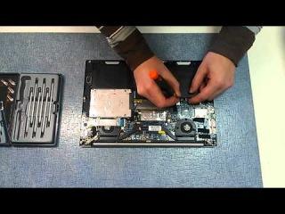 Как разобрать ASUS Zenbook UX32 (ASUS Zenbook UX32 disassembly)