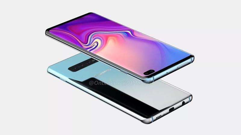 Утечка Рендер Samsung Galaxy S10 Plus