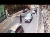 Новое видео нападения Рената Кунашева на полицейских. Видно всё.