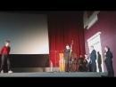 Немое кино с живой музыкой в исполнении Easy Winners. Приветственное слово от Андрея Воеводского.