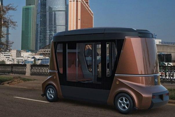 Rusya Sürücüsüz Minibüsü Üniversite Kampüsünde Deneyecek