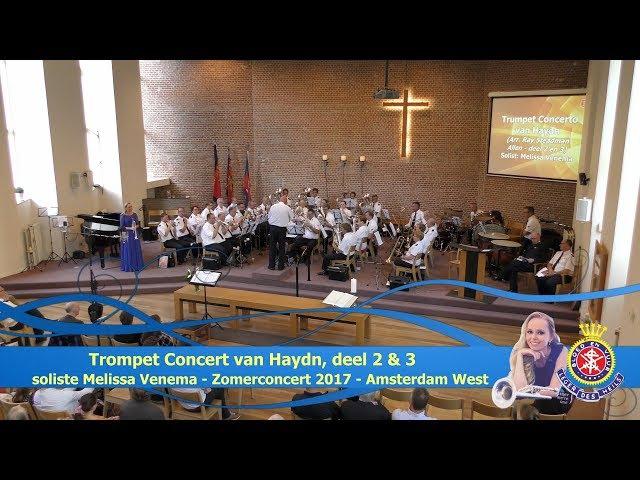 2nd and 3rd movement form Haydn's Trumpet Concerto by Melissa Venema смотреть онлайн без регистрации