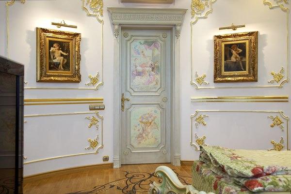 Декор межкомнатных дверей фото