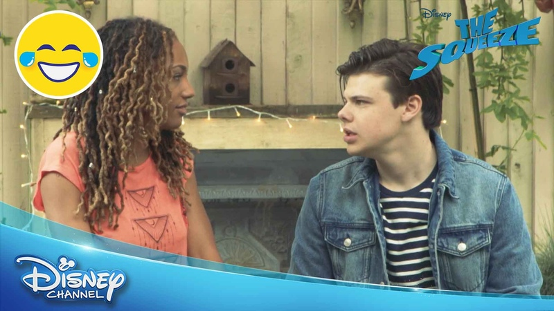 The Squeeze | Word Tennis Challenge | Official Disney Channel UK