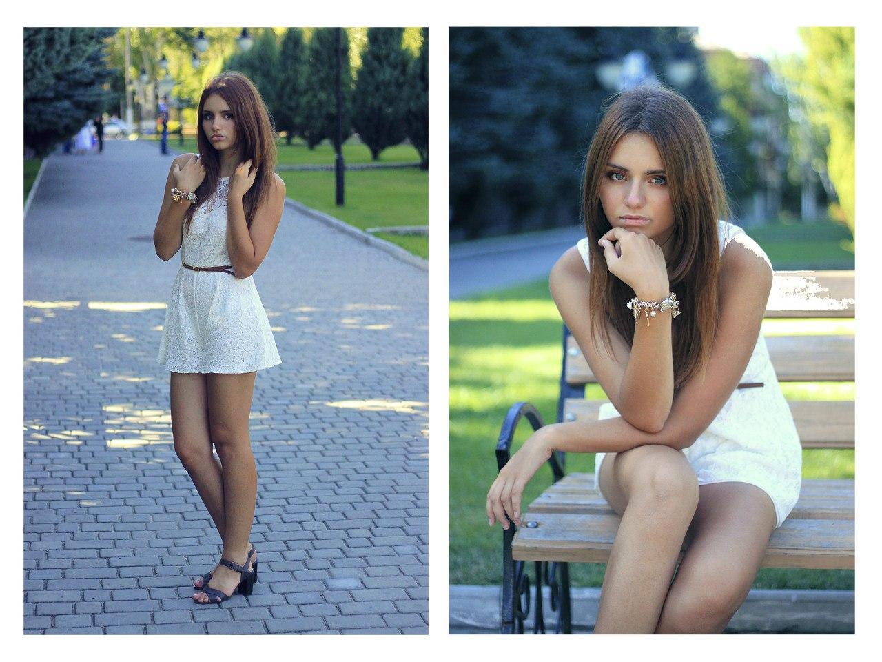 Фото одной и той же девушки красивой девушки 2 фотография