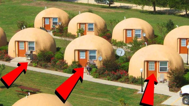 Японцы строят дома за 2 часа и они способны простоять 300 лет Купольные дома из пенопласта