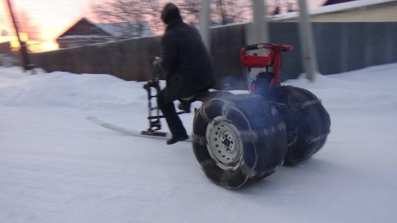 Собираем ЛЮТОГО Крота,мотокультиватор с зимней приставкой.