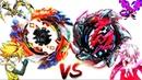 SS Geist Fafnir 8' vs Hell Salamander vs Suoh-Beyblade Burst Turbo Cho-Z Battle!ツ