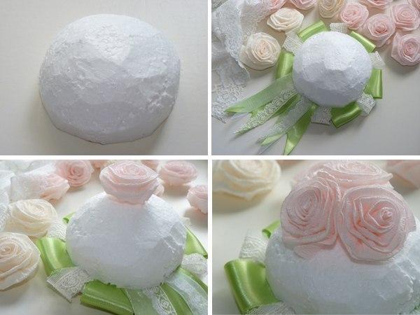 Как сделать свадебный букет своими руками из конфет