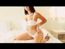 Sexy Brunette Hot Striptease -