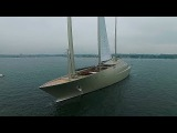 Sailing Yacht A, first sailtest. Remake!