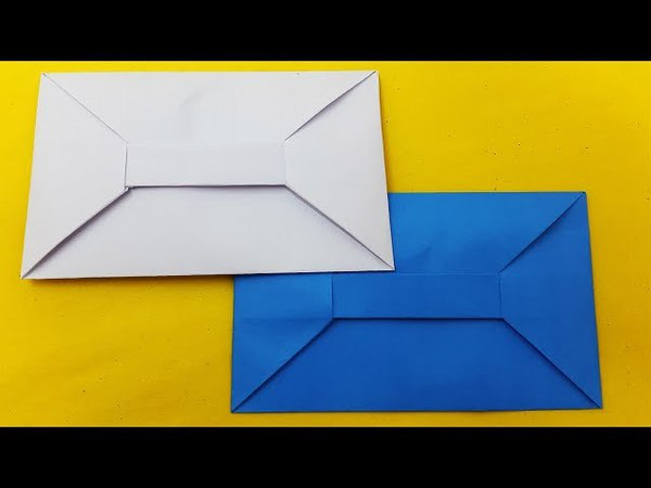 How to make a Envelope with paper | Envelope from A4 sheet-Traditional Origami Envelope Tutorial-diy