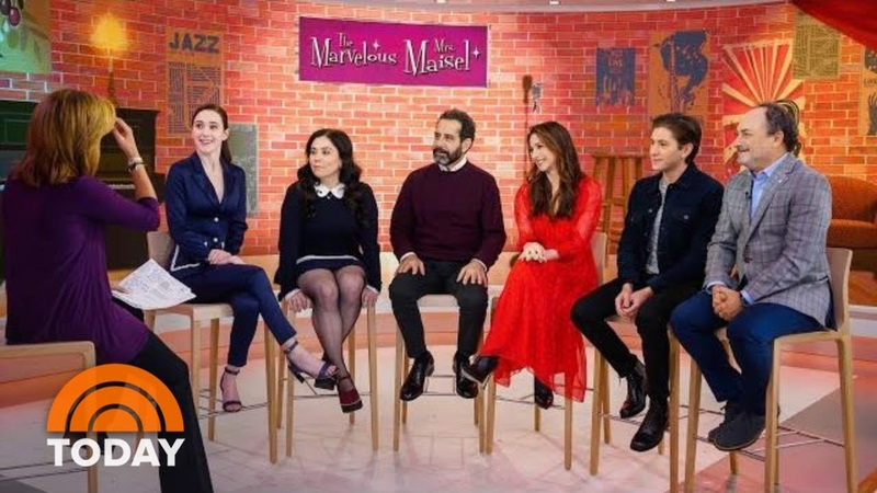 'Marvelous Mrs. Maisel' Cast On Season 2 And Show's Popularity | TODAY