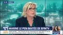 Marine Le Pen On ne menace pas la presse et on nagresse pas la presse. Point.