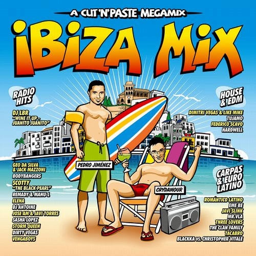 (House, Club, Dance) VA - Ibiza Mix 2014 (Blanco y Negro) - 2014, MP3, 320 kbps