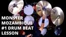 Monster Mozambique   1 Drum Beat Lesson   Rich Redmond