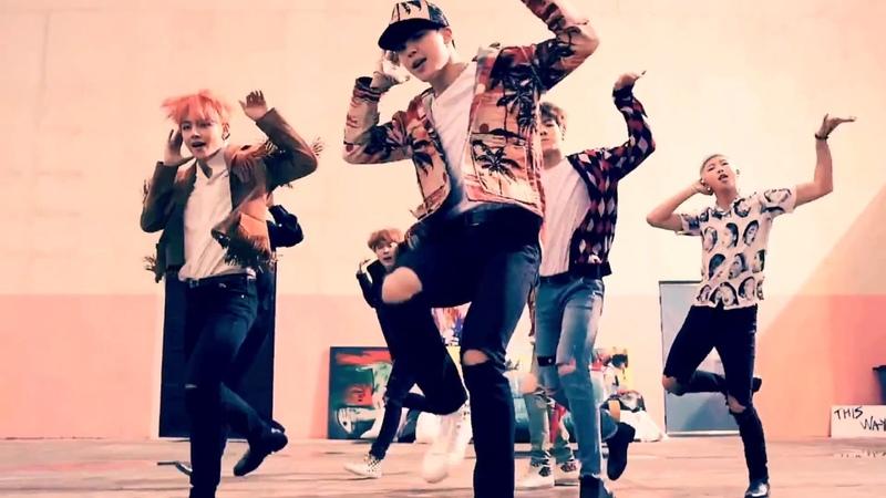 Stray Kids BTS - District 9 x Fire | MASHUP