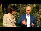 Итоги зимних Игр подвёл Владимир Путин в своём интервью представителям российских телеканалов - Первый канал