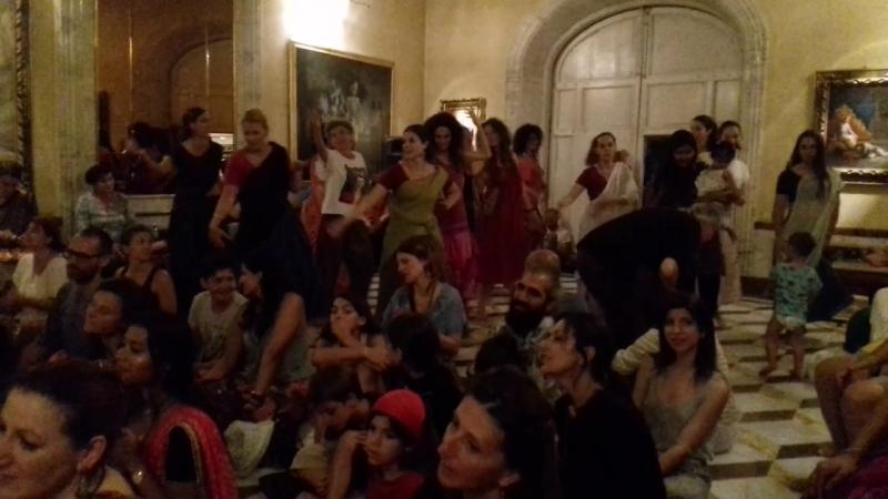 Madhava prabhu. 07.07.18. Firenze, Villa Vrindavana.