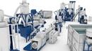 Комплексы переработки пленочного и твердого полимера