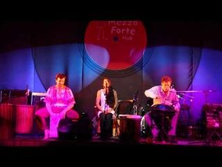 Bossa Nova. Зимний джембе концерт школы африканских барабанов Sun Drums 2013