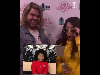 Billie eilish shocked as she meets her favourite actress