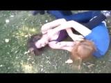 females catfight ( blonde 19 vs brunette 20 )