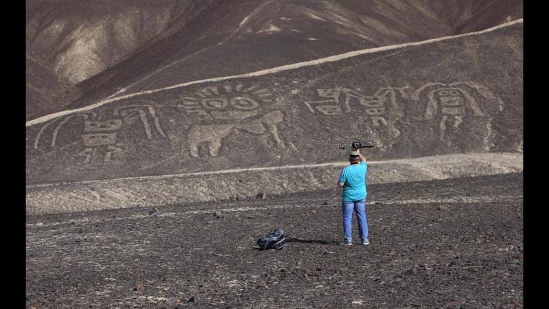Геоглифы плато Пальпа. Перу