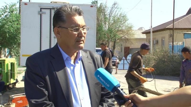 Алдағы уақытта қала бойынша жаппай ауыз судан ажырату болмайды Бұл туралы Қызылорда су жүйесі МКК ның директоры мәлімдеді