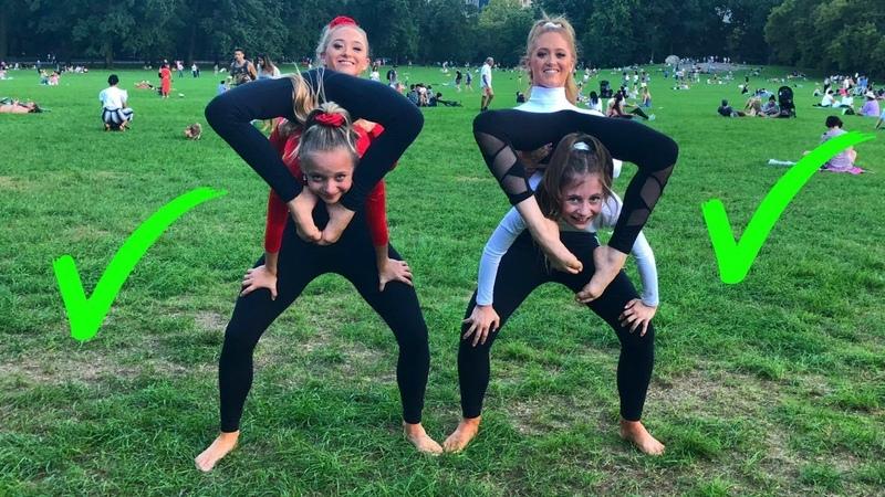 EXTREME Yoga Challenge with Elliana Lilliana from DANCEMOMS