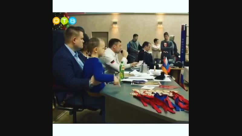 ОТВ ТЕЛЕКАНАЛ Боксёрский клуб Барвиха Григорий Агабекян