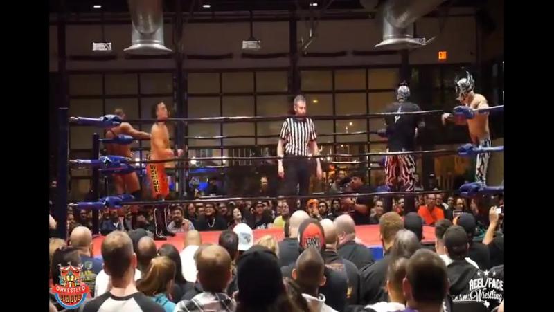Laredo Kid Rey Fenix vs Aaron Solow Ricky Starks