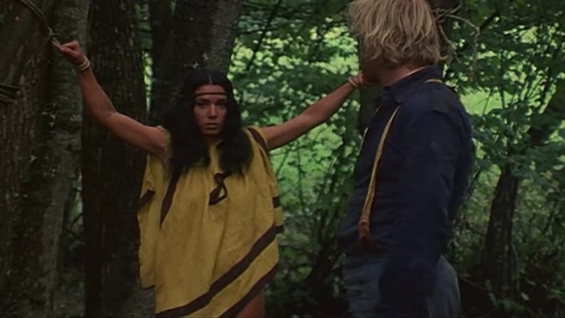 худ.фильм мелодрама(есть сцены бдсм бондаж, изнасилования,rape) Apache Woman(Una donna chiamata Apache) - 1976 г, Эли Галлеани
