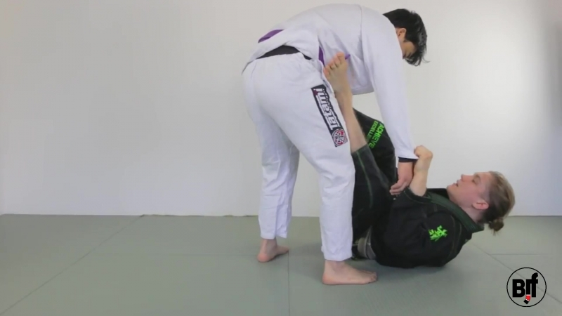 Aleksi Ruuskanen - Open Guard Sweep