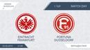 AFL19. Germany. Bundesliga-2. Day 1. Eintracht Frankfurt - Fortuna Dusseldorf