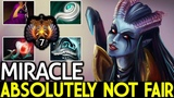 Miracle- Queen of Pain Absolutely Not Fair When VS M-God 7.17 Dota 2